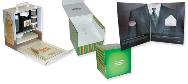 Promotional Packaging Samples